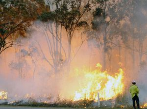 Large grassfire on Tableland Rd