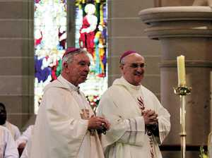 Bishop pleased with cathedral work