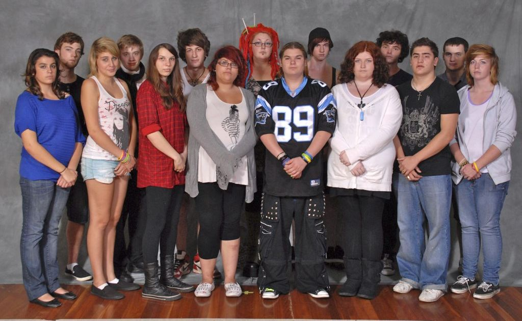 The cast of the Channel 10 series Class Of.