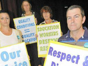 Teachers' strike goes ahead