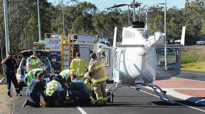 A man has been killed after he was involved in a crash on the Bruce Highway near Torbanlea this morning.