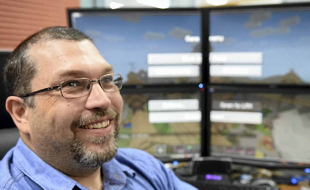 CQ's Rob Thomas runs the largest mine operation in Australia through his Minecraft server.