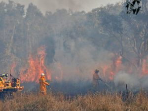 QFES downgrade warning for bushfire near Esk