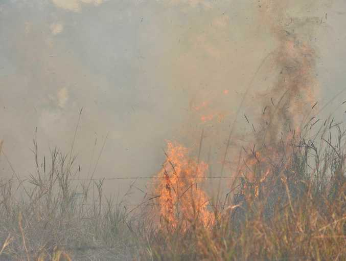 A fire near Beerburrum has been contained.