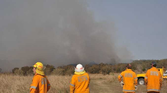 A very high fire danger has been declared for Central Queensland this weekend.