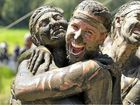 The Stampede at Woodford drew hundreds of people who fancied getting covered in mud … and tomatoes.