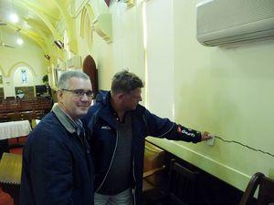 Works to save church underway