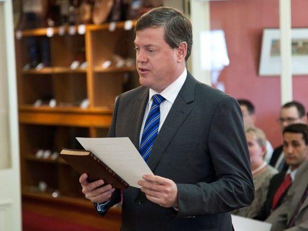 Qld Treasurer Tim Nicholls