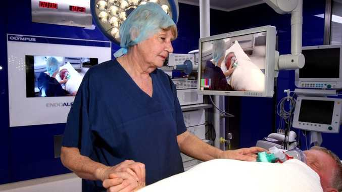 Perioperative services manager Gail Wilson at work in the new multi-million dollar operating theatre.