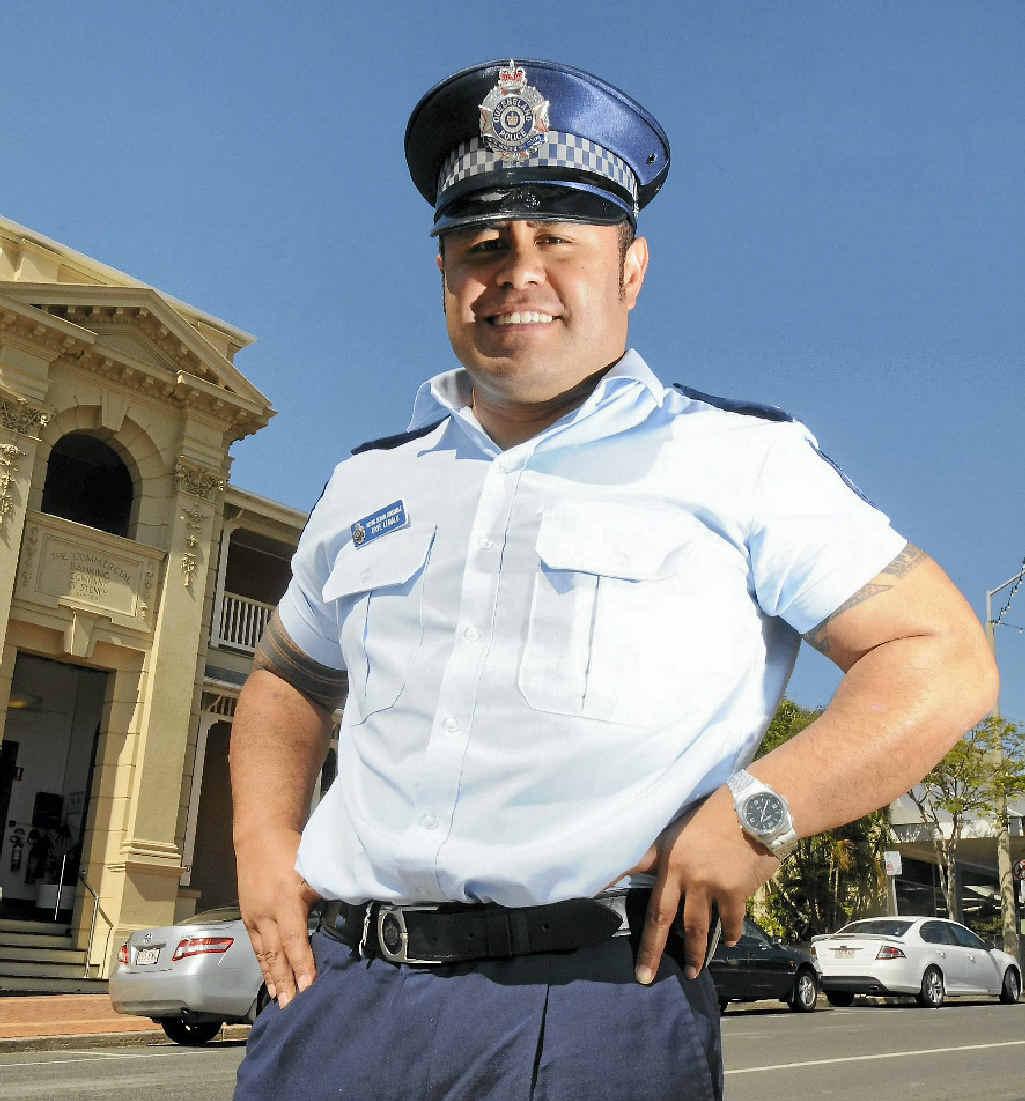 Acting Sergeant Dave Lemalu wants to bring back the Neighbourhood Watch program.