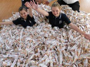 Students swim in sea of vouchers