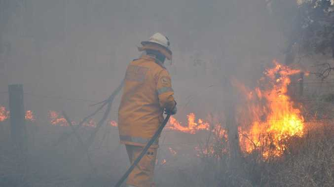 The RFS has suspended all fire permits for the Far North Coast due to dangerous conditions.