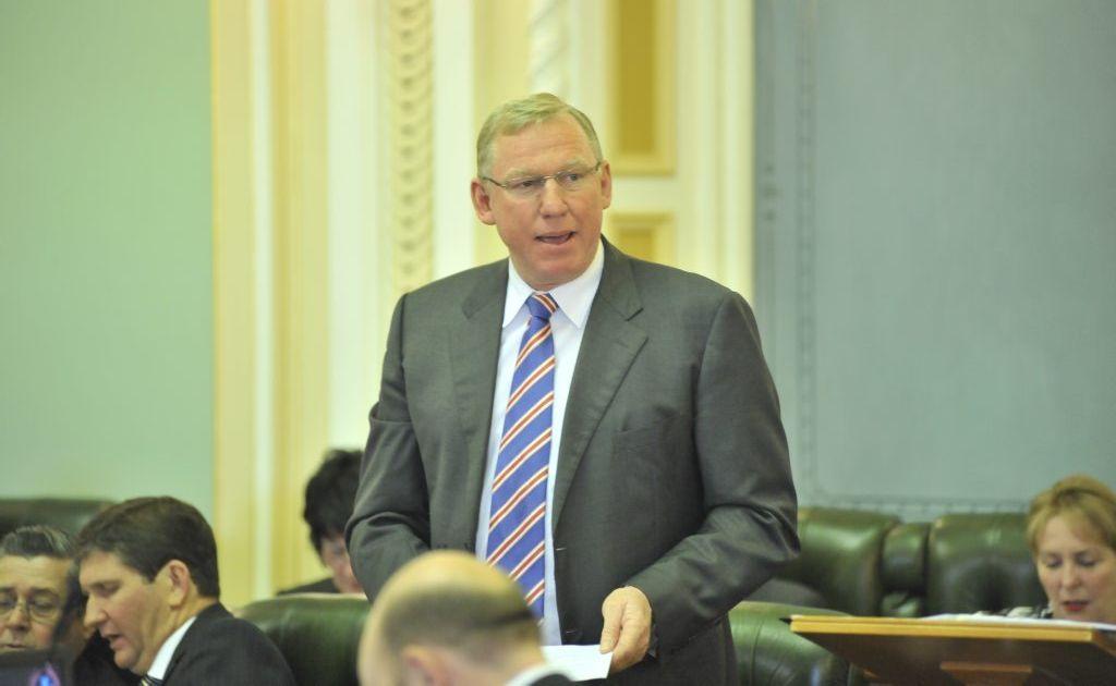 Deputy Premier and Callide MP Jeff Seeney. Photo: Greg Miller / Sunshine Coast Daily.