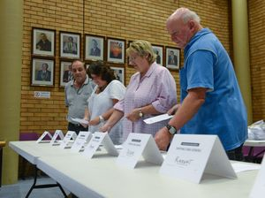 Slender vote count lead for Knight