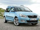 The Skoda Roomster, with abundant space, lives up to its name.