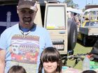 David with Rebacca, Kahli and Ford Lillicoat at the Gympie swap meet.