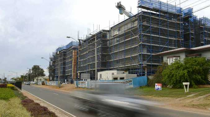 NO QUICK FIX: The G60 project on Glenlyon Rd will have 64 units ready for occupation by Christmas.