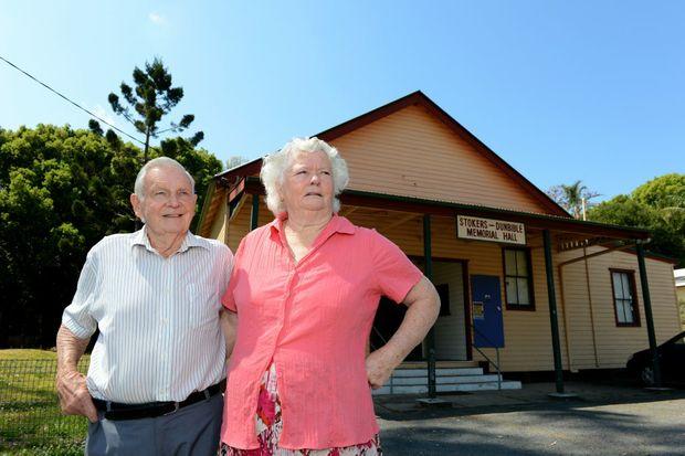 Eddie and Mavis Partridge at Stokers Siding. Photo: John Gass / Daily News