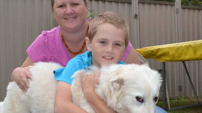 ACTIVE LIFE: Rebecca Yourell with son Jacob, 9, who suffers from EoE – eosinophilic esophagitis.