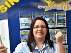 Kate McBryde from Harvey World Travel is a Cowboys fan and has organised trips for other fans to games.