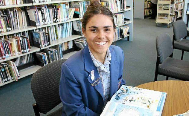 ANTARCTIC ADVENTURER: Trinity Catholic College school captain, Amelia Telford.