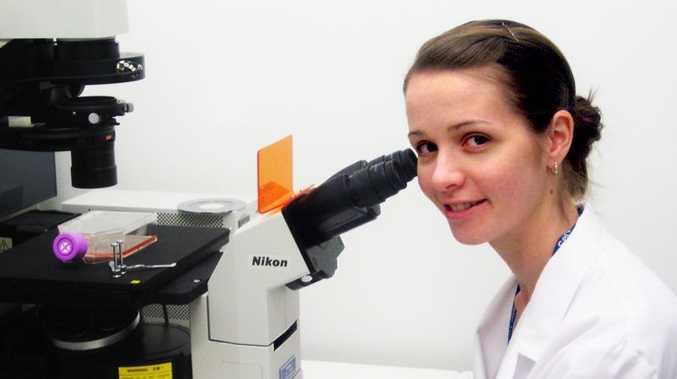 Eye tissue engineer Dr Laura Bray