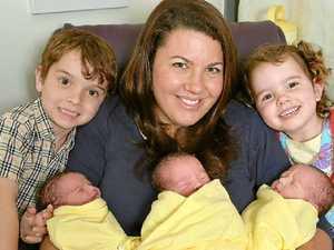 Triplets make five times the fun