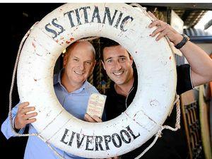 Businessmen buy Titanic blueprints