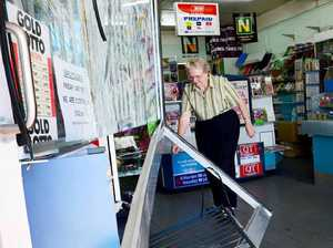 Thieves ram newsagency with car