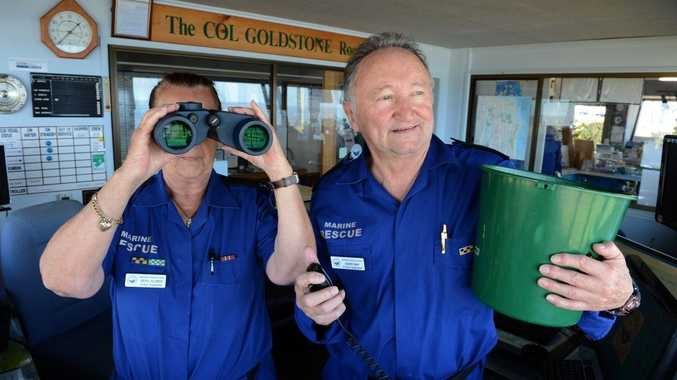 Beryl Aldred and Barry May are looking forward to a command centre roof without leaks.