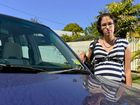 Jasmin Donaldson has had to replace her windscreen twice.