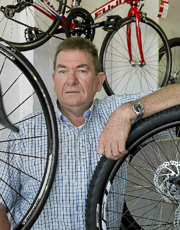 Cycling enthusiast Kerry Cosgrove would support a push for mandatory licensing and registration of riders who use the city's roads.