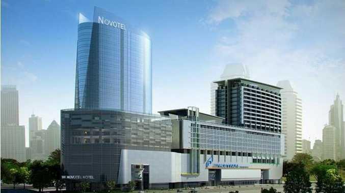 Novotel Platinum Hotel and Shopping Mall in Bangkok.