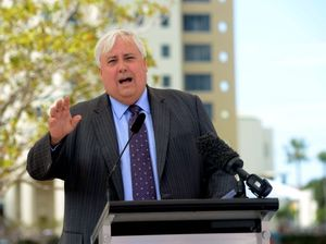 Clive Palmer in dispute with CITIC over the word 'taken'