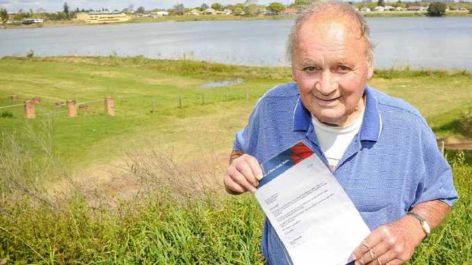 Frank Smidt, of Wooli, the fifth Nymboida coal mine explosion hero to be honoured, with his citation.