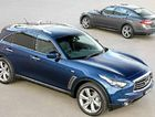 The Infiniti FX SUV and the M sedan.