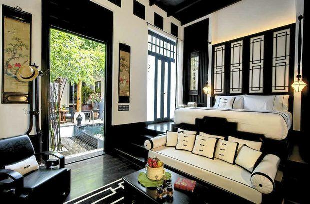 Chinese Villa Bedroom