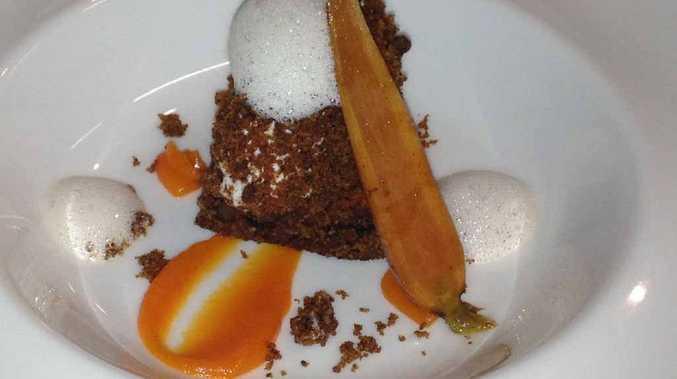 Spicers Peak carrot cake