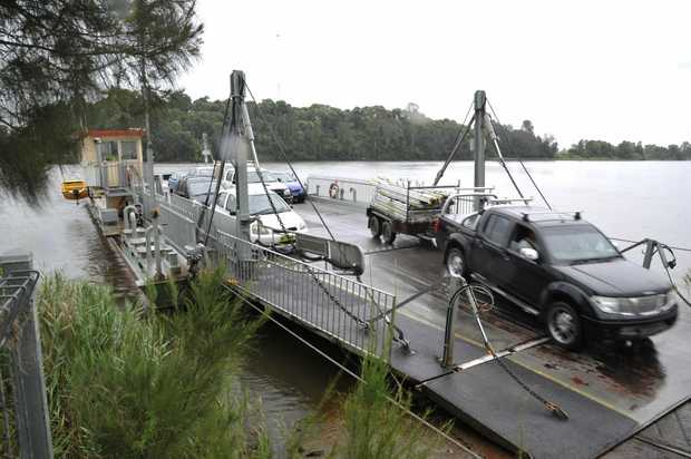 A ferry capable of carrying 24 vehicles replaces the four-car ferry operated seven days a week, 24 hours a day by 'Gilligan' on the Clarence River in years past.