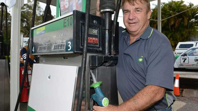 BP Tanawha owner Peter Barnes is networking with other service stations to stop petrol theft.