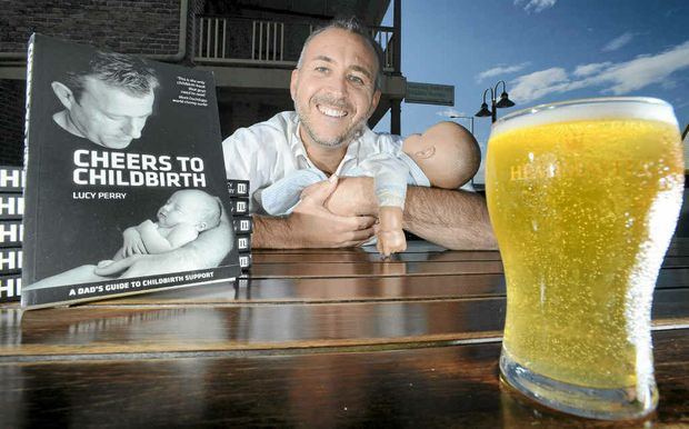 Darren Mattock is running childbirth education classes for dads at the pub called Beer + Bubs.