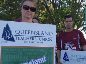 Teachers take message to Costigan