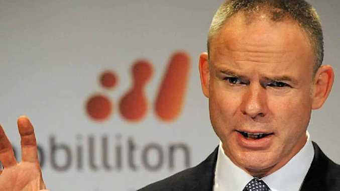 BHP Billiton CEO Marius Kloppers.