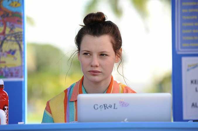 Queensland schoolgirl Lily Sullivan plays 'Coral' in PJ Hogan's new Aussie film, Mental.
