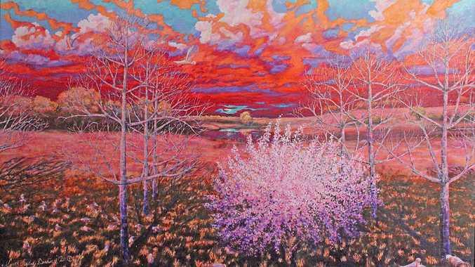 Peach Among Pecans by Gareth Lindsay Deakin