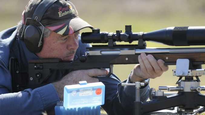 Col Drochmann shoots during a Raglan Target Sports Club meet. (File photo)