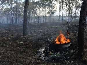 Small grass fire in Glen Eden