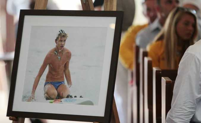 Thousands turned out to farewell Matt Barclay.