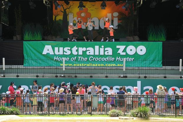 Australia Zoo is being represented in India as part of a tourism drive this week.