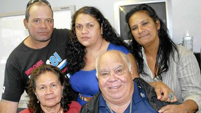 A two-year investigation and court process is almost over for the family of Joshua Blow including (back from left) his parents Colin Blow and Samantha Bond, Natalie Harrison and (in front) Caroline and Harold Doyle.